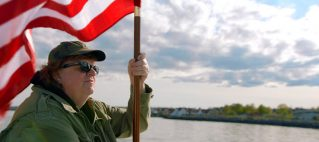 """Michael Moore photo for """"Where to Invade Next?"""""""