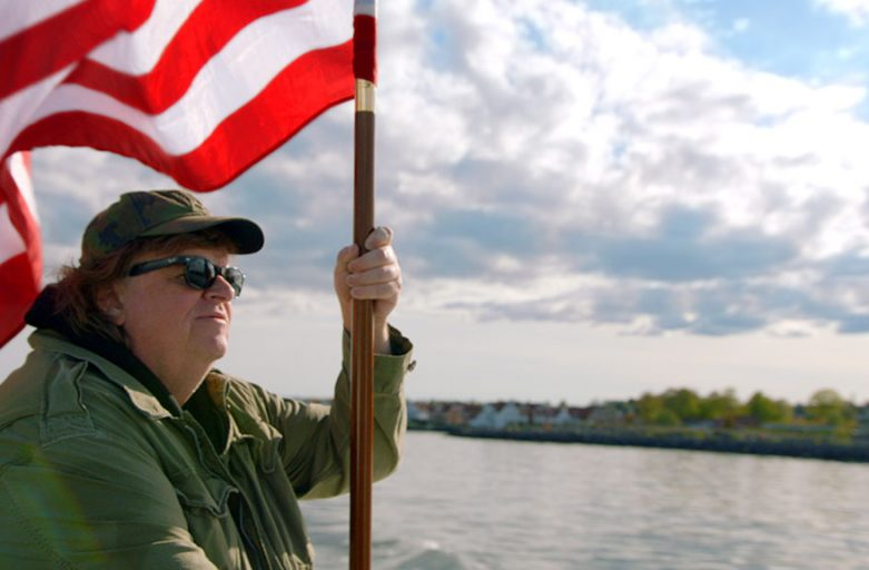 "Michael Moore photo for ""Where to Invade Next?"""
