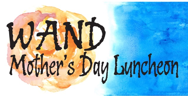 WAND Mother's Day Luncheon painting